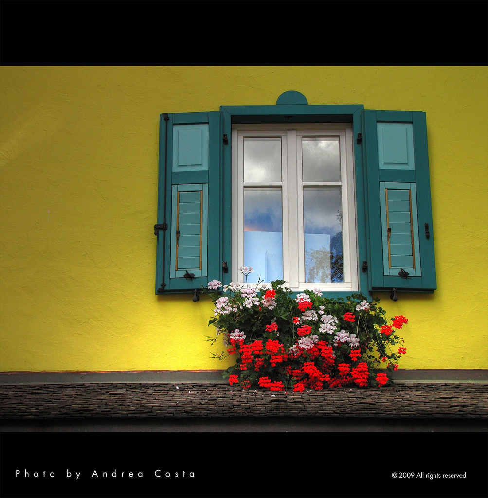 Yellow window by Andrea Costa Photography
