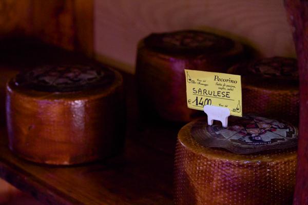 Sarulese pecorino cheese
