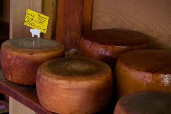 Cuor Linas pecorino cheese