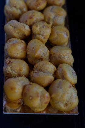 Cedrini di Sirmione (pastry filled with hazelnut cream)