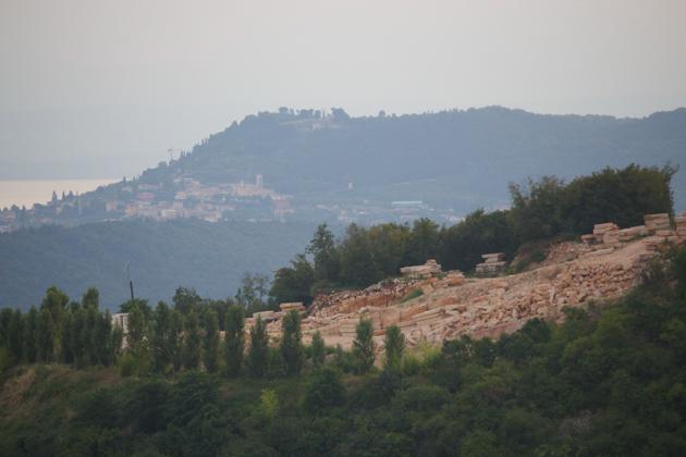 A quarry in Valpolicella