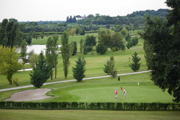 Golf course in Castello di Spessa