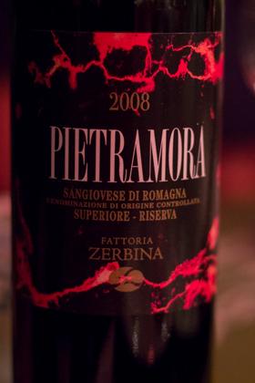 Pietramora, Sangiovese di Romagna 2008, Zerbina