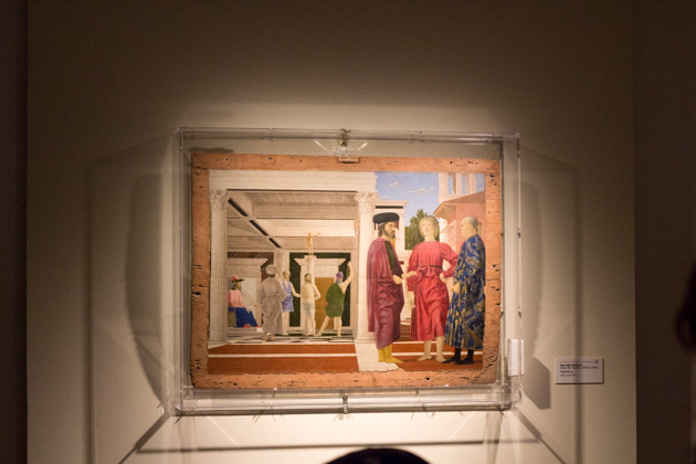 Painting by Piero della Francesca in the National Gallery