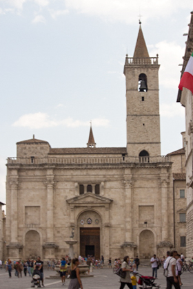 The cathedral of Sant'Emidio