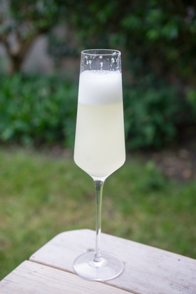 Sgroppino (lemon slush cocktail) – Veneto