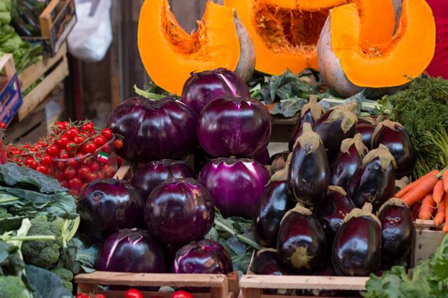 Sicilian aubergines