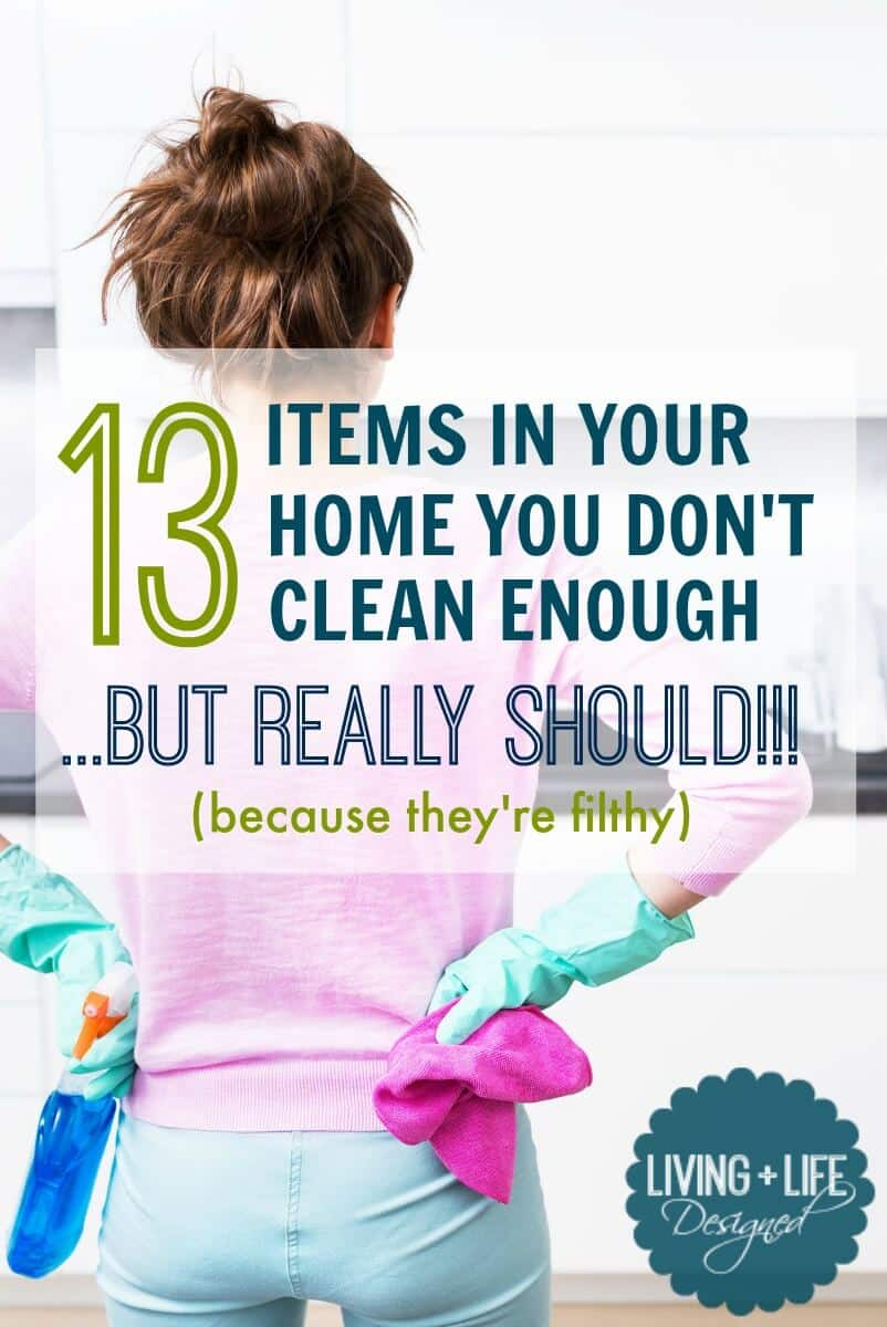 don't forget to clean these areas or your house will look dirty