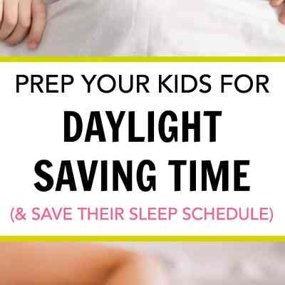 Prep Your Kids for Daylight Saving Time