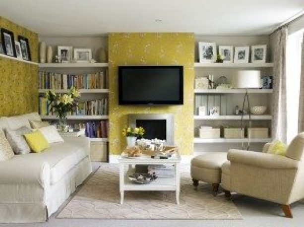 yellow-wallpaper-living-room-300x224