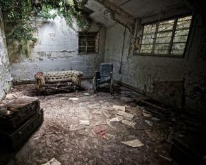একটি অব্যবহৃত ঘর