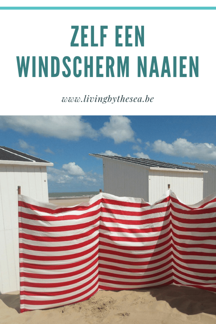Uitgelezene DIY - zelf een strandzeil of windscherm naaien - Living by the sea NV-45
