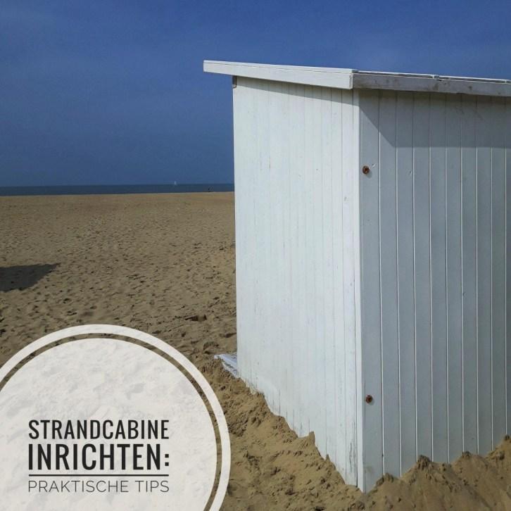 Strandcabine inrichten: praktische tips