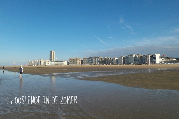 6 x Zomer in Oostende