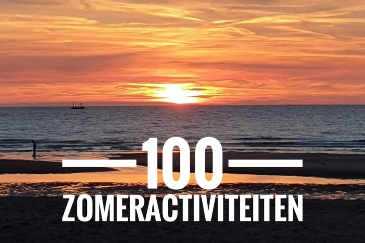 100 zomeractiviteiten