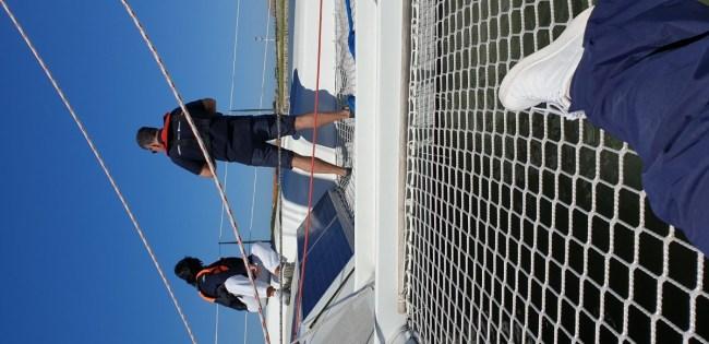Zeilen met een catamaran