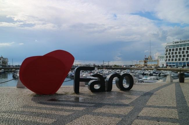 Faro - hoofdstad van de Algarve