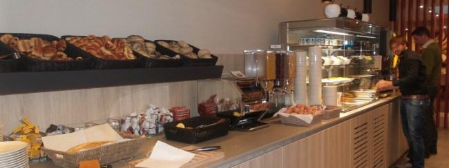 Ontbijten op hotel