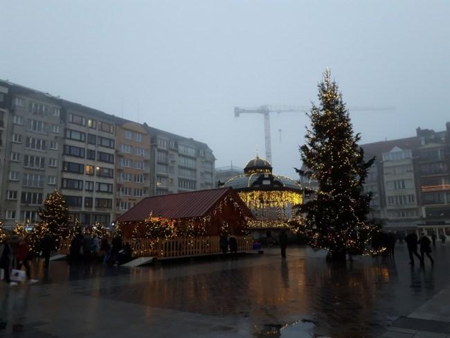Wapenplein Oostende - Huis van de Kerstman