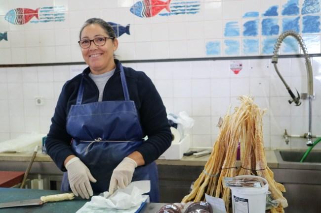 Litão, gedroogde vis uit Olhão