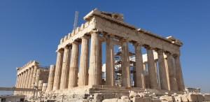 Parthenon tijdens citytrip Athene