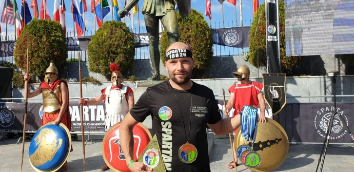Bart VDB WK Spartan Race in Sparta