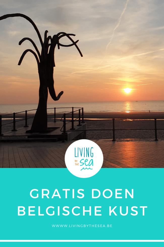Gratis doen aan de Belgische kust