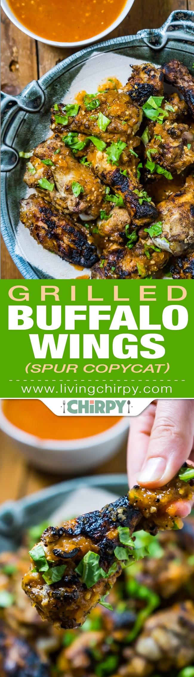 Spur Copycat Grilled Buffalo Wings