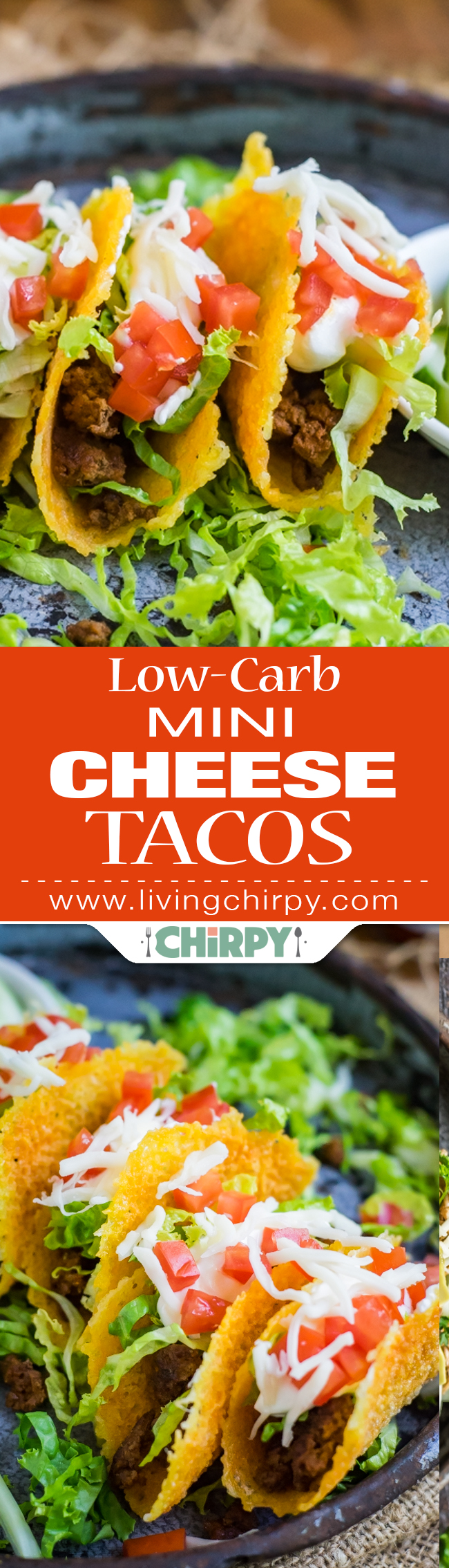 Low-Carb Mini Cheese Tacos