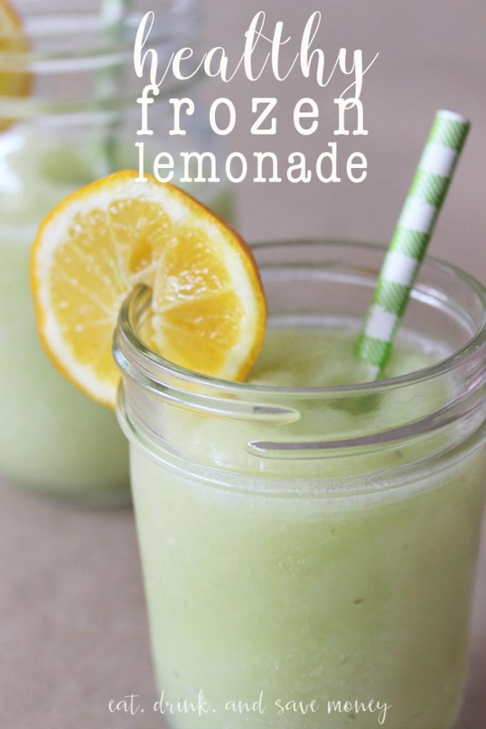Healthy Frozen Lemonade