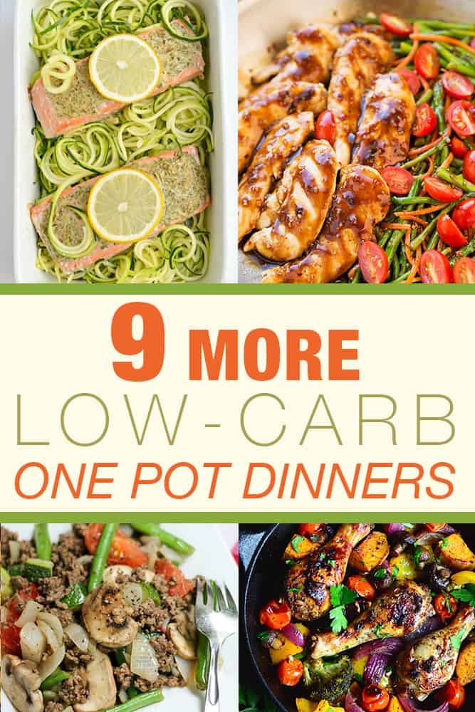 9 More Low-Carb One-Pot Dinners