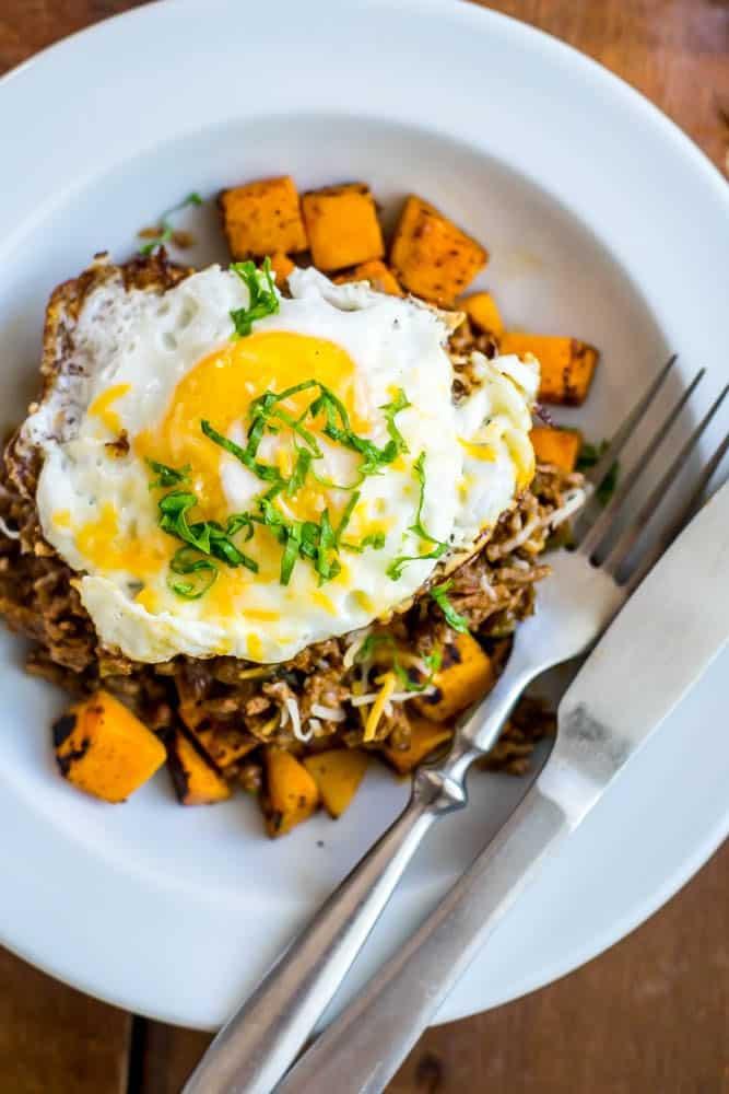 Sloppy Joe Sweet Potato Breakfast