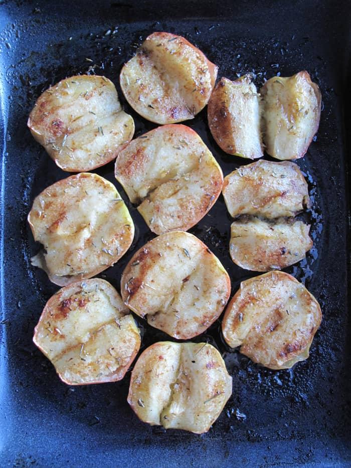 Honey Lavender Oven Baked Apples