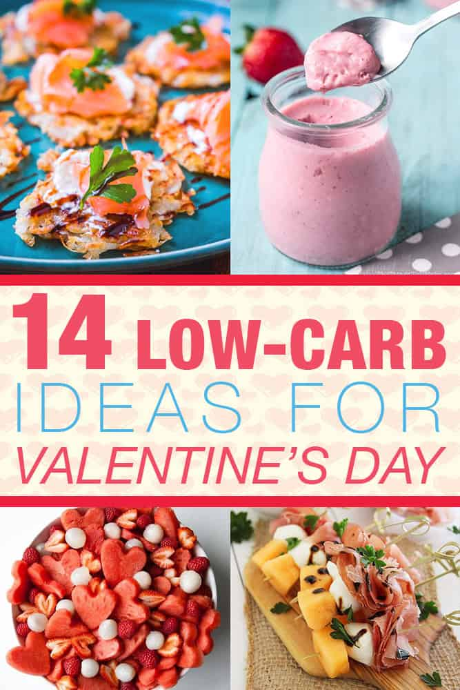 14 low-carb ideas for valentines day