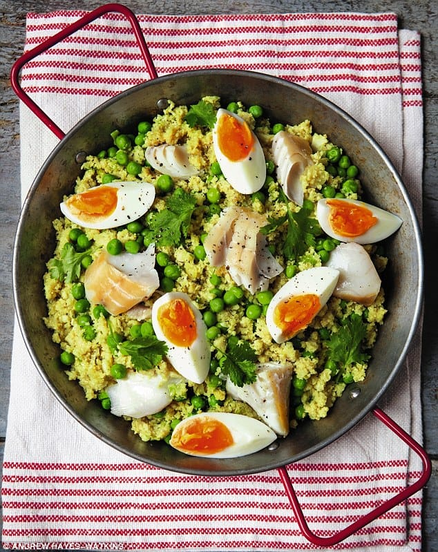 Cauliflower Rice Kedgeree