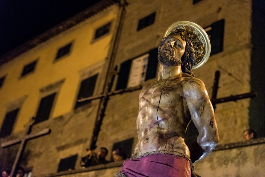 Cortona Italy processione