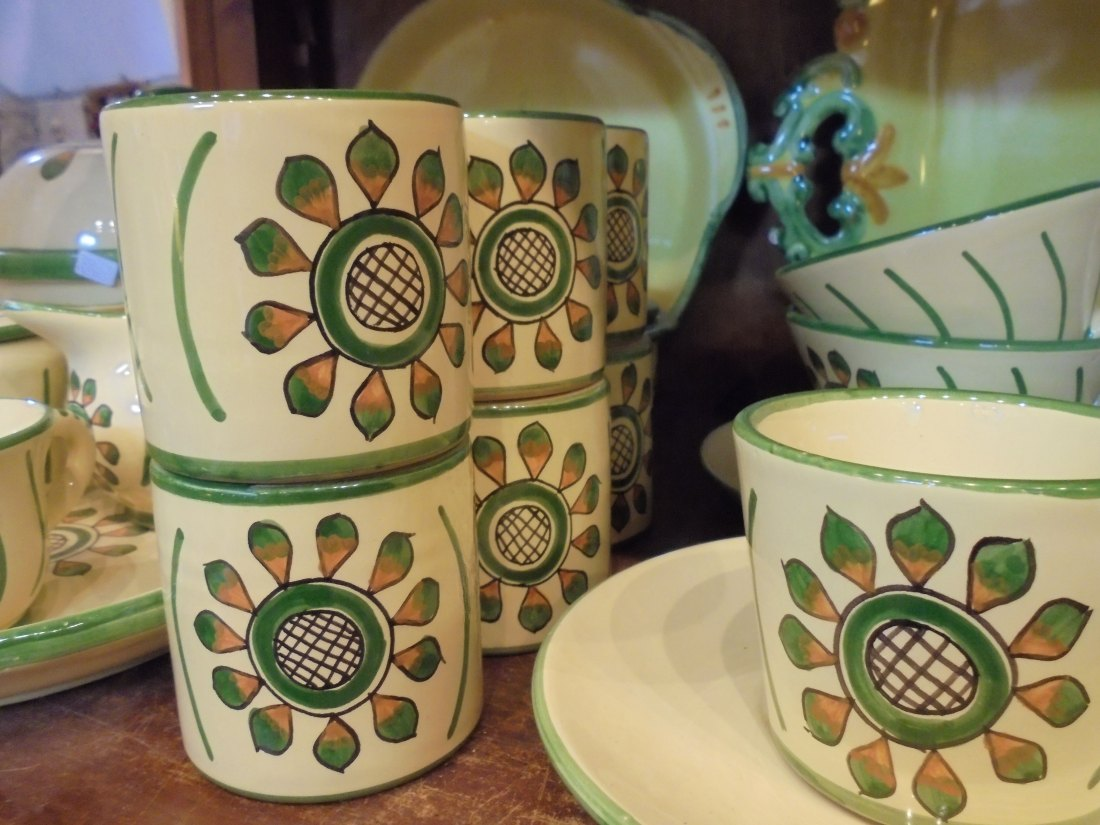 Cortona ceramics sunflower