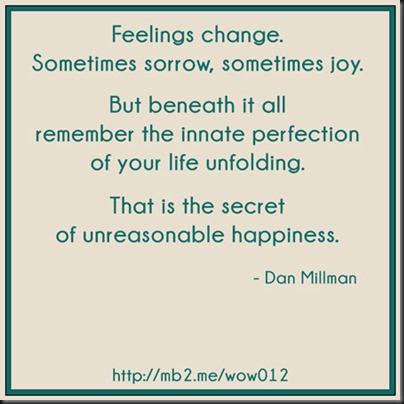 unreasonable happiness