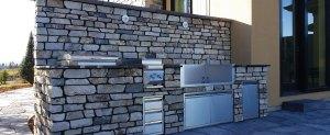 Custom patio stonework done in calgary.