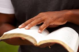 hand on the bible