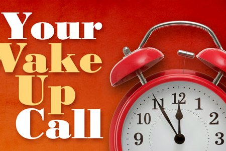 """Pastor Maryanne preaches her sermon: """"Wake-up Call: What"""