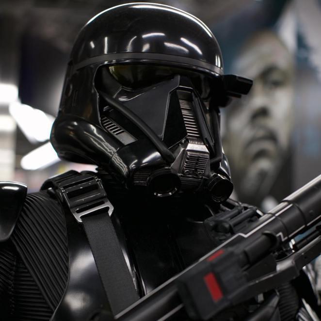 Star Wars rougeone stormtrooper starwars taken in at Yodobashi camerahellip