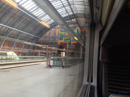 a train station