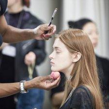 BackStage Anne Sofie, behind the scenes, beauty coverage, make-up and hair, image Akin Abayomi, Livingfash magazine