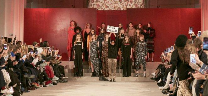 Lala Berlin AW17, image by Livingfash,Copenhagen Fashion week.