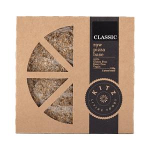 Kitz Living Foods Organic Raw Pizza Base Classic