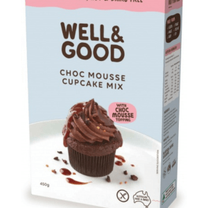 Well & Good Choc Mousse Cup Cake Mix & Mousse Topping