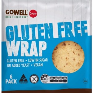 Diego's GoWell Gluten Free Wraps (6 Pack)