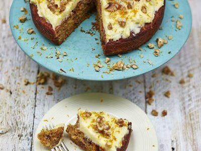 Jamie Oliver's Gluten-Free Carrot Cake
