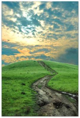 journey path trail life joy image picture sky mountain the road less taken